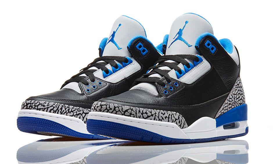Jordan III 'Sport Blue'