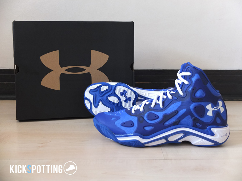 16097546c34 Under Armour made a big splash in the basketball sneaker scene with the  signing of Steph Curry and the release of the Anatomix Spawn, which curry  rocked ...