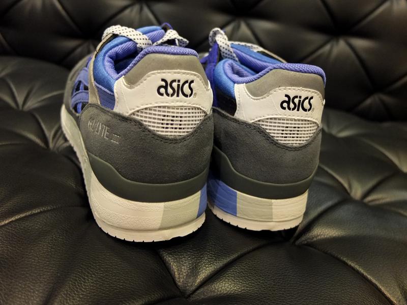 sneaker freaker x asics gel lyte iii alvin purple