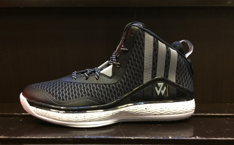 info for ee7b7 8fe3a Adidas earlier unveiled the J Wall 1 signature basketball shoe and apparel  collection – the first in a line of signature products designed for  Washington ...