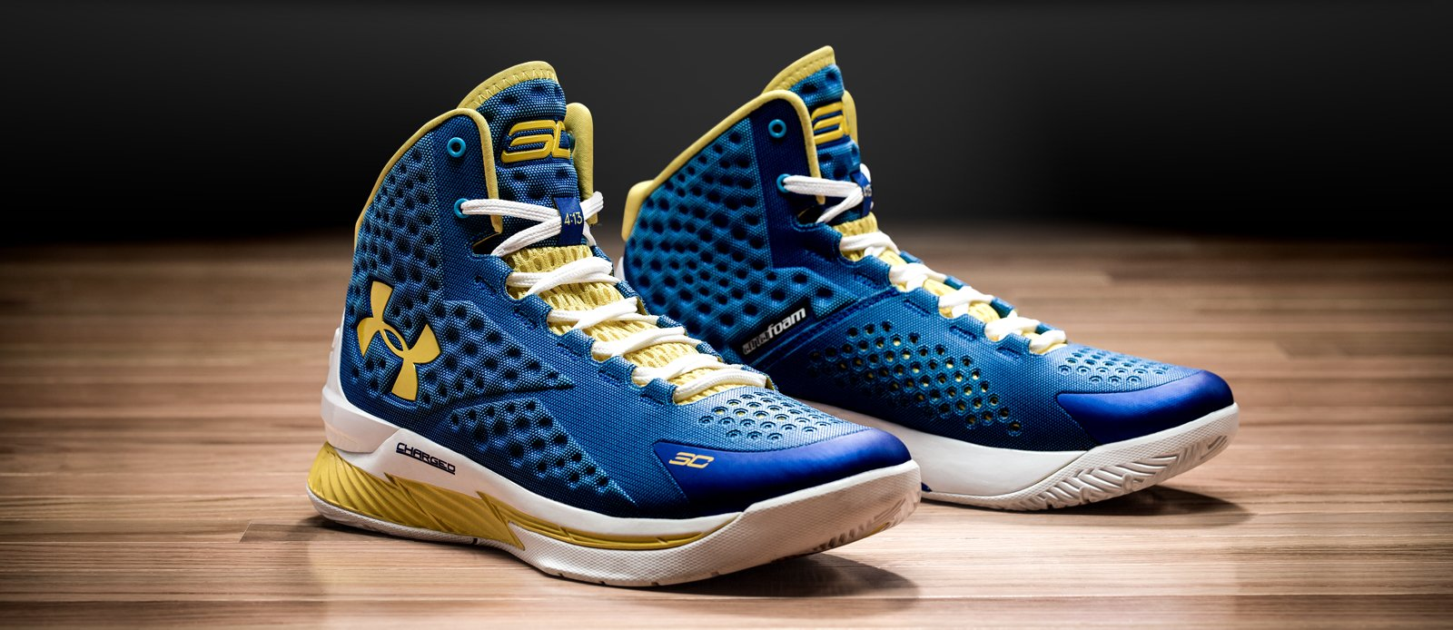 Uunder Armour Curry 1 blue