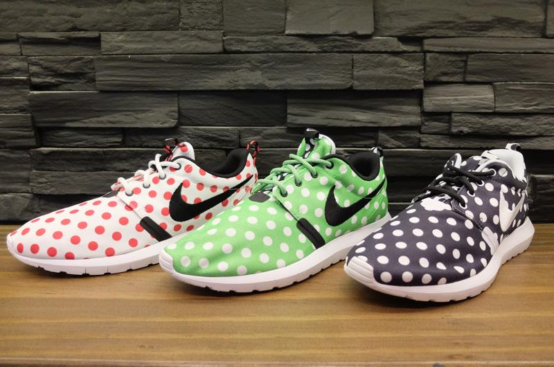 huge selection of d3c8f fccfc Nike Roshe Run NM  Polka Dot Pack