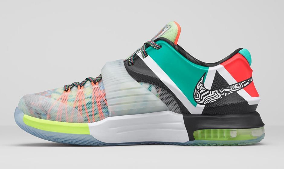 Nike KD7 \'What The\' merges 18 shoes into one | Kickspotting