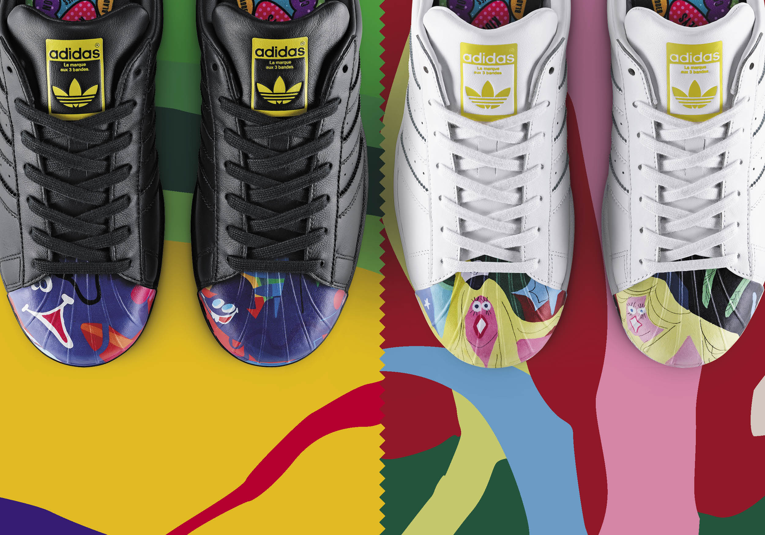 adidas superstar artwork collection