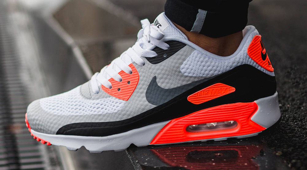 nike air max 90 ultra essential infrared kickspotting