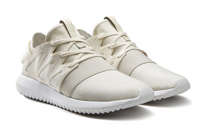 Adidas originals Tubular Viral Knit Sneaker in White Lyst