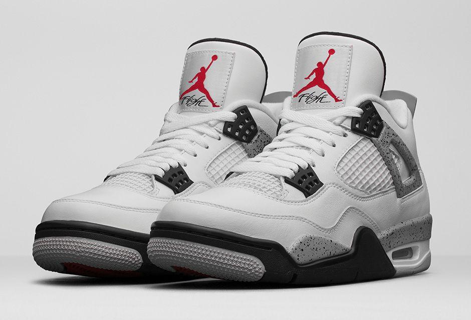 remise Air Jordan 4 Ciment 2016 L'industrie De Détail dédouanement Livraison gratuite vraiment pas cher nicekicks bon marché Réduction limite sIU7Aos