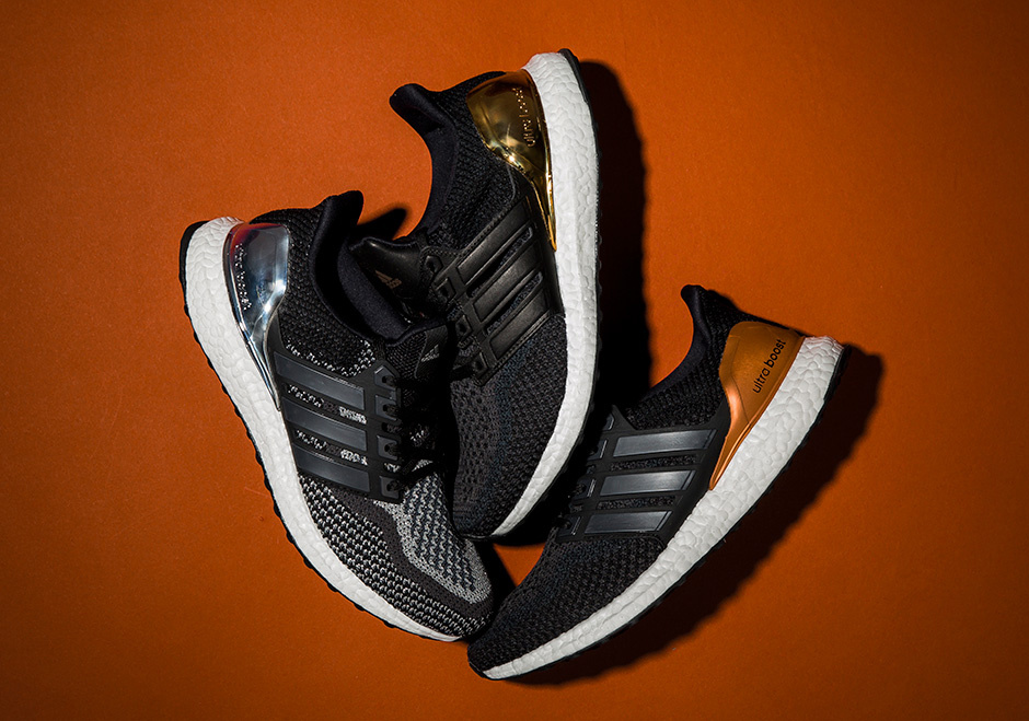 best website 5c26d 776cc adidas Ultra Boost Olympic Medals Pack