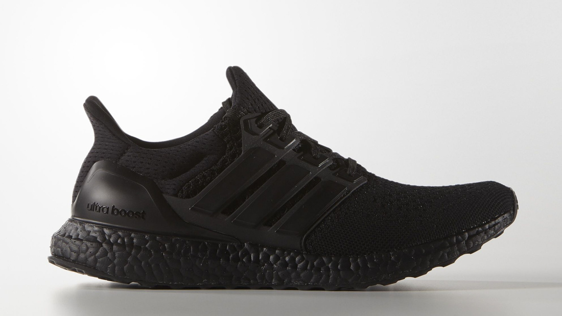adidas ultra boost triple black herren