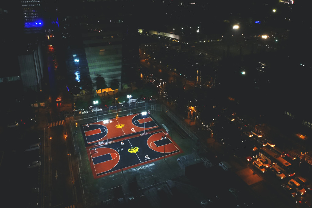 In the heart of the city, Titan Love Court beats with the rhythm of the game.
