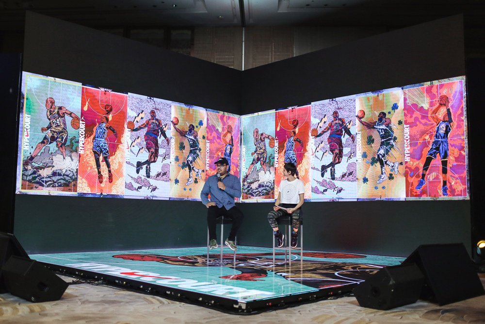 Bulbul Khera and Artist Arturo Torres