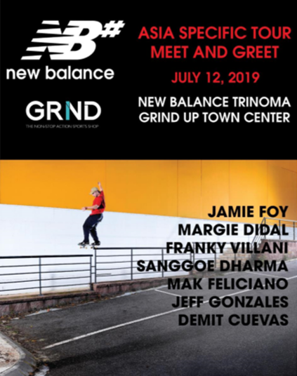 New Balance GRND Meet and Greet