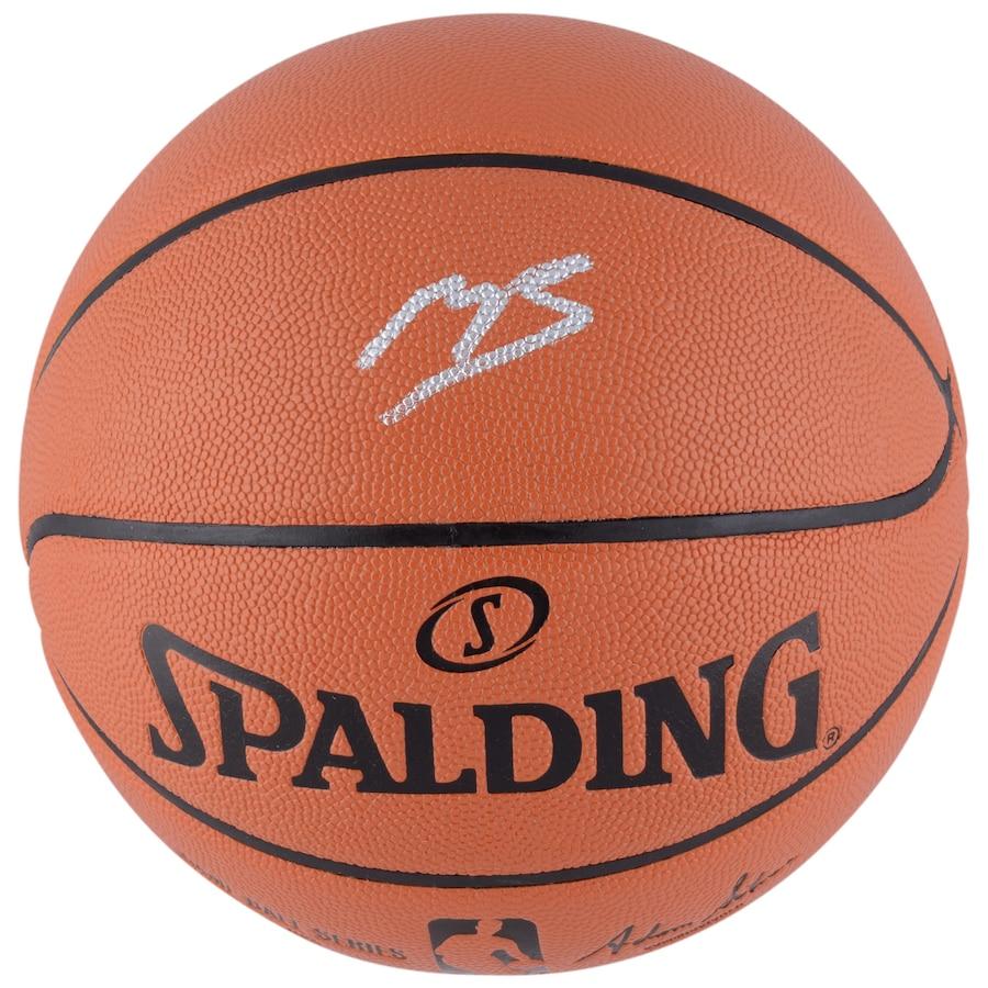 Mikal Bridges Phoenix Suns Autographed Indoor_Outdoor Replica Basketball